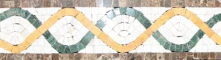 Dorris Marble Tile Mosaic Border