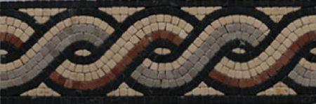 Elena Mosaic Tile Border