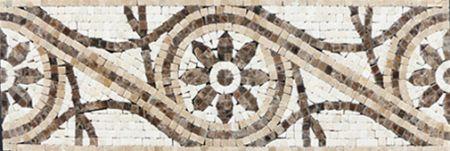 Isidore Tile Mosaic Border Design