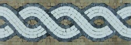 Junia Tile Mosaic Border Design