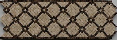 Justina Tile Mosaic Border Artwork