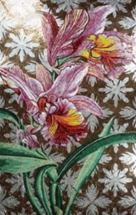 Sunshine Lilies Mosaic Art