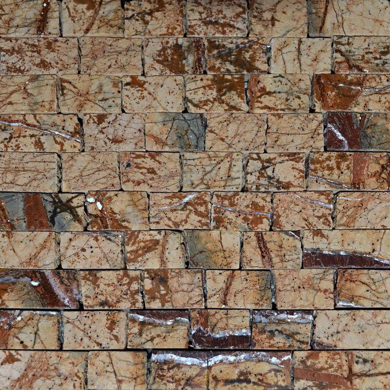 Brown Marble Mosaics Sheet by Mosaics Lab