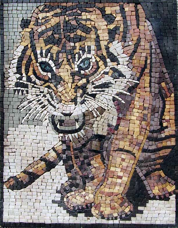Custom Mosaic Art provided by mosaics lab