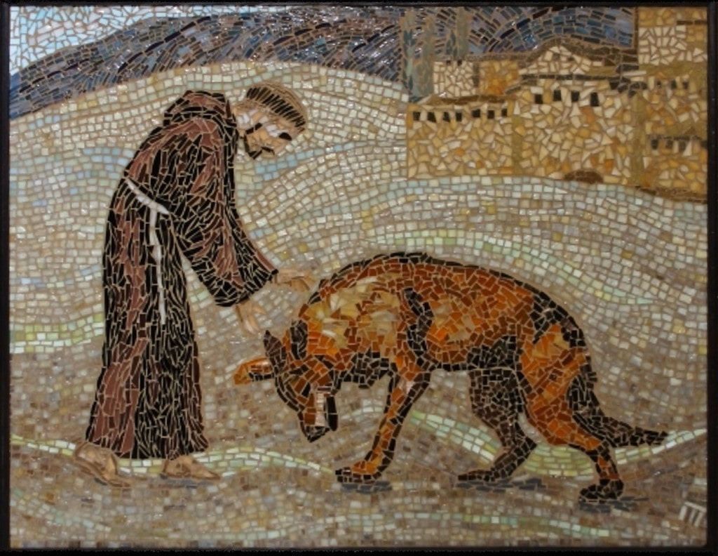 Check Pamela Mauseth's tile mosaic artwork and mosaic designs on mosaicslab.com