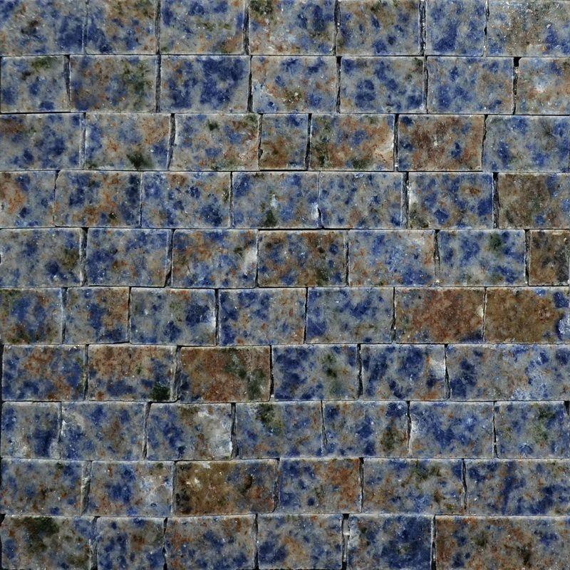 Blue Bahia Marble Mosaics Sheet by Mosaics Lab