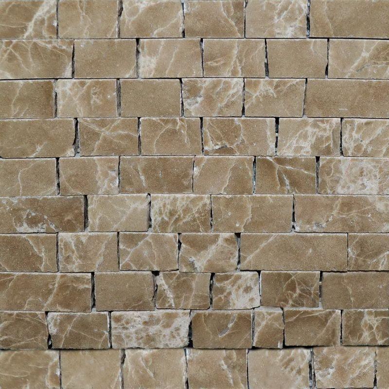 Emperado Marble Mosaics Sheet by Mosaics Lab