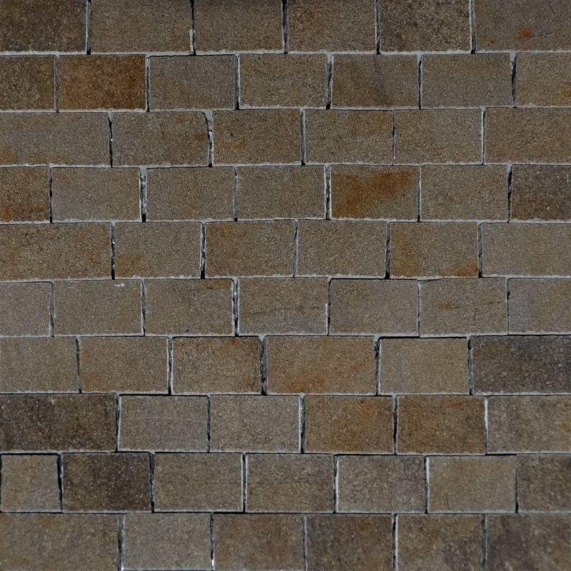 Maron Marble Mosaics Sheet by Mosaics Lab