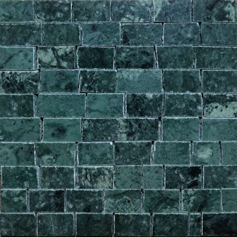 Green Marble Mosaics Sheet by Mosaics Lab