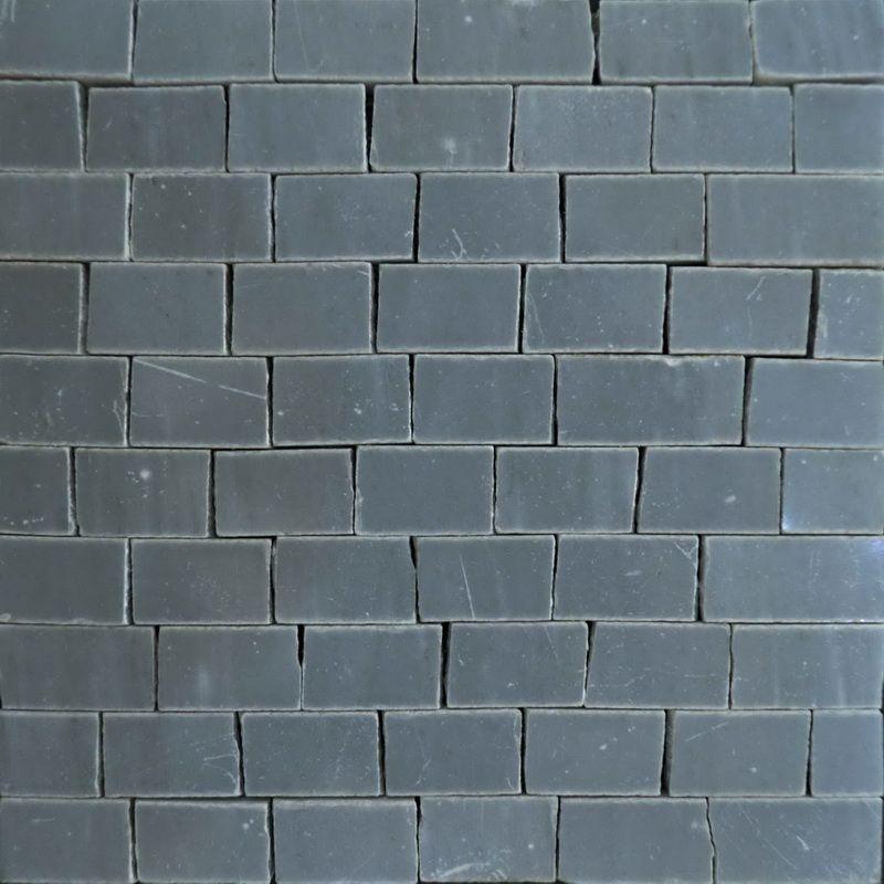 Bardiglio Marble Mosaics Sheet by Mosaics Lab