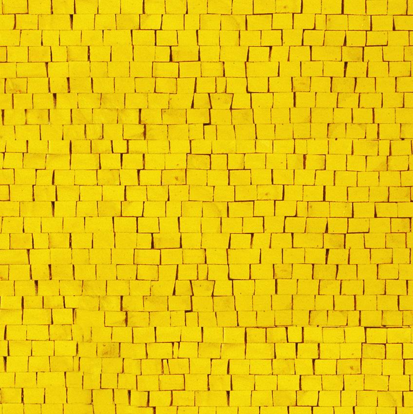 Prisma giallo Marble Mosaics Sheet by Mosaics Lab