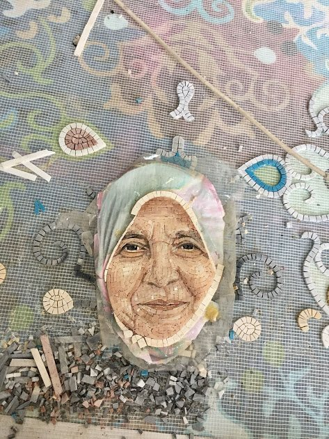 Mosaics Lab, customized mosaic designs and handmade mosaic artwork